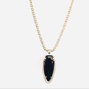 Kendra Scott -Shaylee Black Pendant Necklace